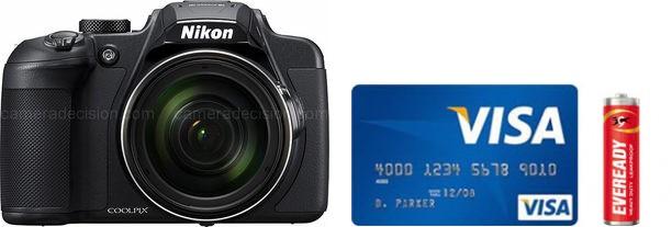 Nikon B700 Real Life Body Size Comparison