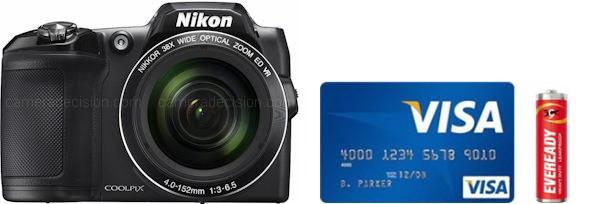 Nikon L840 Real Life Body Size Comparison