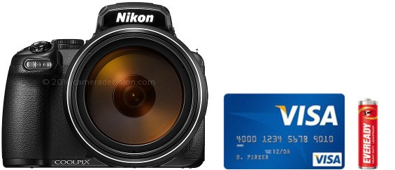 Nikon P1000 Real Life Body Size Comparison