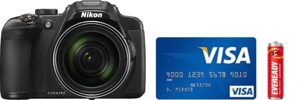 Nikon P610 Real Life Body Size Comparison
