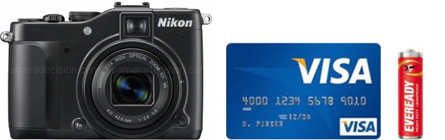 Nikon P7000 Real Life Body Size Comparison