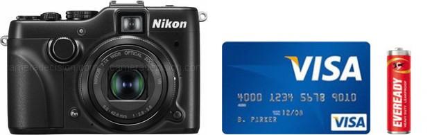 Nikon P7100 Real Life Body Size Comparison