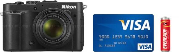 Nikon P7700 Real Life Body Size Comparison