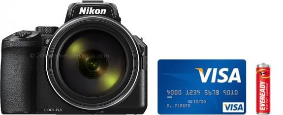 Nikon P950 Real Life Body Size Comparison