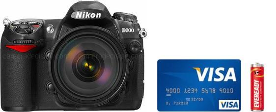 Nikon D200 Real Life Body Size Comparison