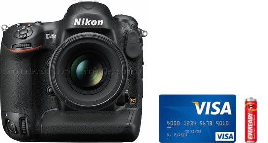 Nikon D4s Real Life Body Size Comparison