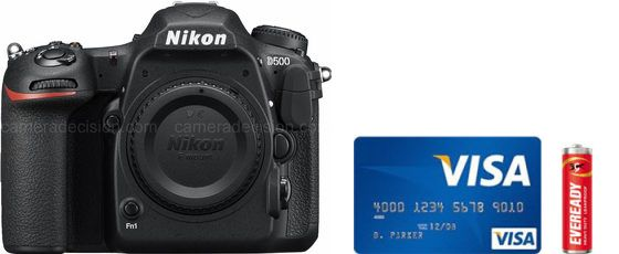 Nikon D500 Real Life Body Size Comparison