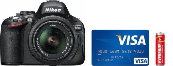 Nikon D5100 Real Life Body Size Comparison