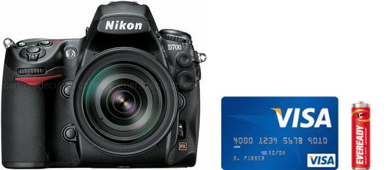 Nikon D700 Real Life Body Size Comparison