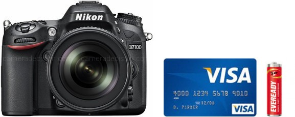 Nikon D7100 Real Life Body Size Comparison