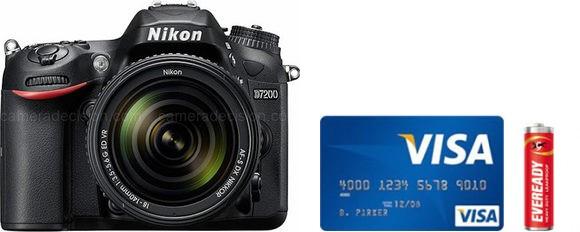 Nikon D7200 Real Life Body Size Comparison
