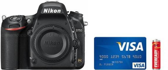 Nikon D750 Real Life Body Size Comparison