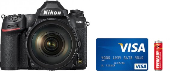 Nikon D780 Real Life Body Size Comparison