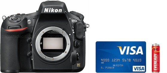 Nikon D810A Real Life Body Size Comparison