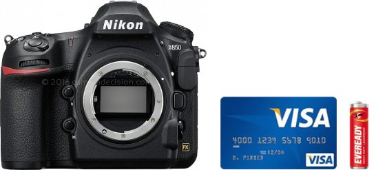 Nikon D850 Real Life Body Size Comparison