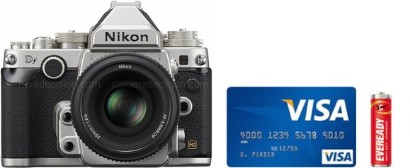 Nikon Df Real Life Body Size Comparison