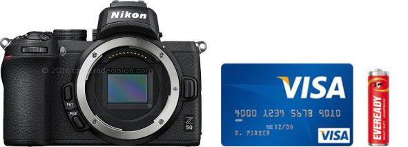 Nikon Z50 Real Life Body Size Comparison