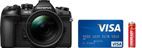 Olympus E-M1 II Real Life Body Size Comparison