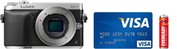 Panasonic GX7 Real Life Body Size Comparison