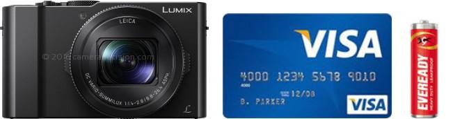 Panasonic LX10 Real Life Body Size Comparison