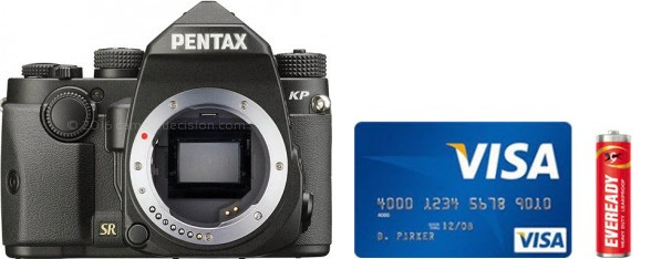 Pentax KP Real Life Body Size Comparison
