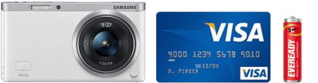 Samsung NX mini Real Life Body Size Comparison