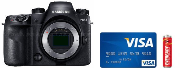Samsung NX1 Real Life Body Size Comparison