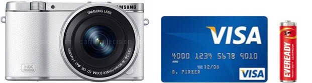 Samsung NX3000 Real Life Body Size Comparison
