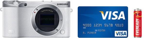 Samsung NX500 Real Life Body Size Comparison