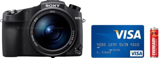 Sony RX10 IV Real Life Body Size Comparison