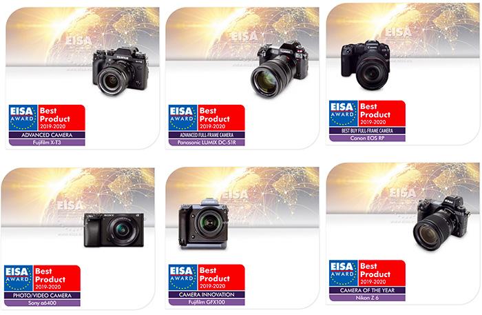 Best Compact Camera 2020.Eisa Awards 2019 2020 Winner Cameras