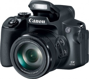 Canon SX70 HS flash