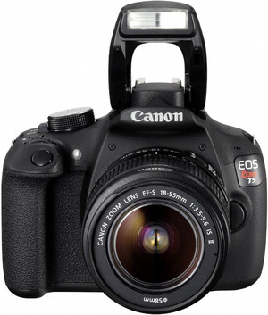 Canon 1200D flash