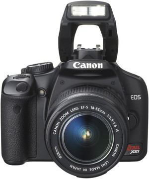 Canon 450D flash