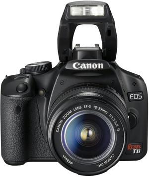 Canon 500D flash