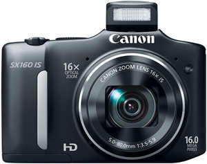 Canon SX160 IS flash