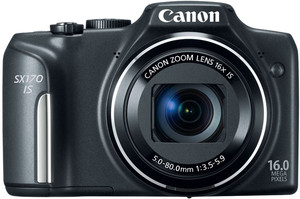 Canon SX170 IS flash