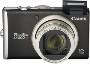 Canon SX200 IS flash