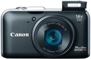 Canon SX230 HS flash