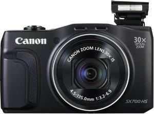 Canon SX700 HS flash