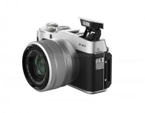 Fujifilm X-A7 flash