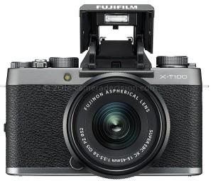 Fujifilm X-T100 flash