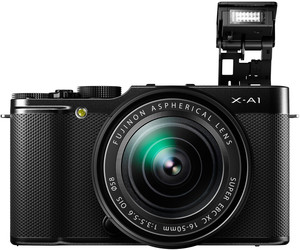 Fujifilm X-A1 flash