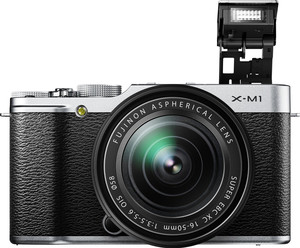 Fujifilm X-M1 flash