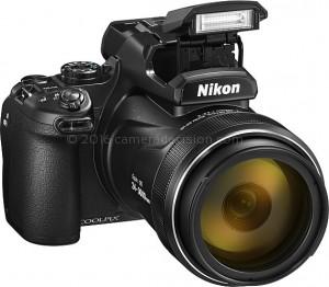 Nikon P1000 flash
