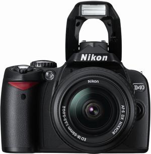 Nikon D40 flash