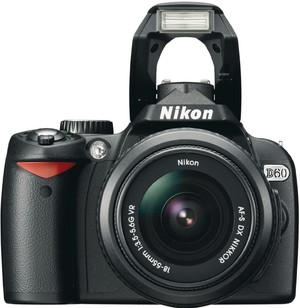 Nikon D60 flash