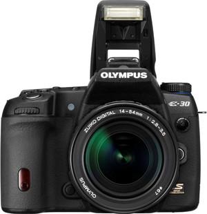 Olympus E-30 flash