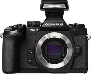 Olympus E-M1 flash