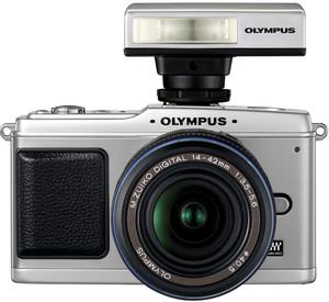 Olympus E-P1 flash